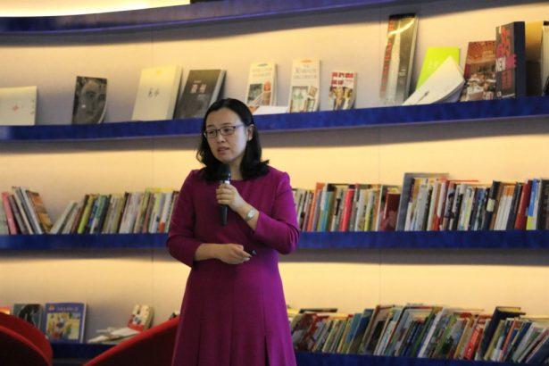 北京自如资产管理有限公司副总经理孙静,就长租公寓政策和自如业务做了主讲分享