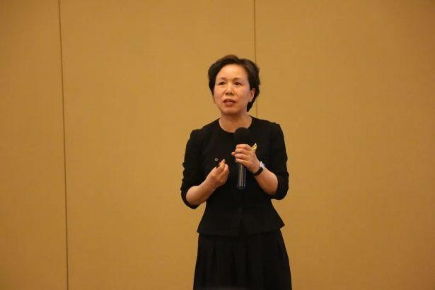 北方中郡投资(北京)有限公司总经理 钱瑞霞 进行主题演讲